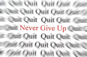 never give up 300x199 Cytat na dzis 13.