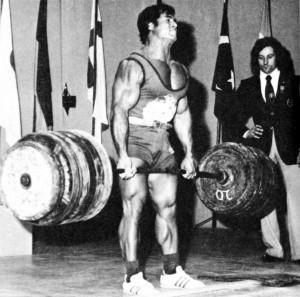 70 s bodybuilder powerlifter franco columbu souleva jusqu a 340 kg 300x297 Cytat na dzis 20.