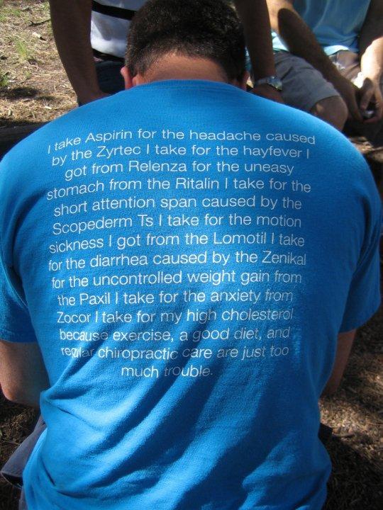 shirt Prawda o lekach